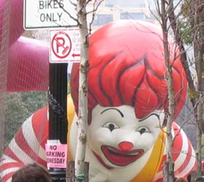 Ronald McDonald Float