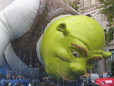 Shrek Float