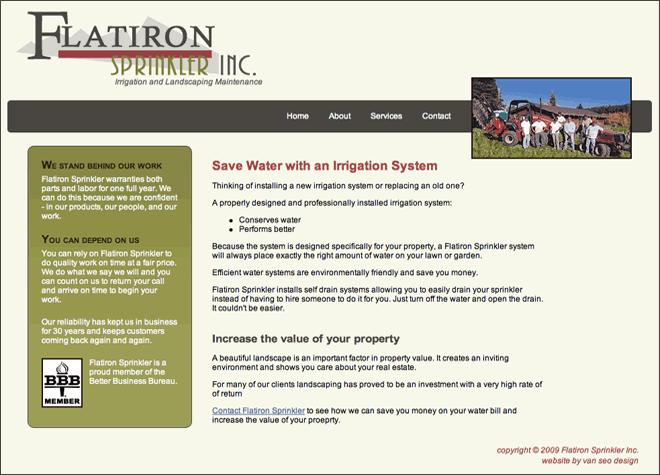 Flatiron Sprinkler