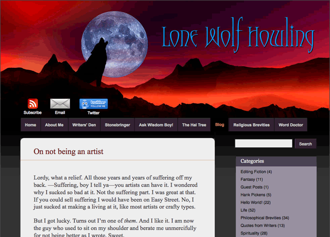 Tom Howe: Lone Wolf Howling