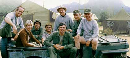 M*A*S*H: Cast from midway through the series