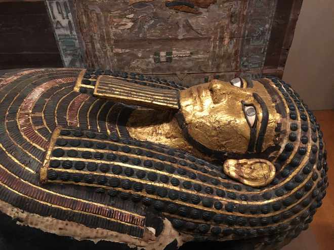 Egypt Exhibit at the Metropolitan Museum of Art