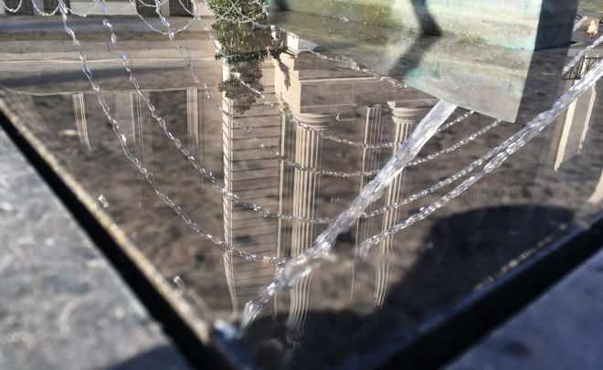 Reflection of the Metropolitan Museum of Art
