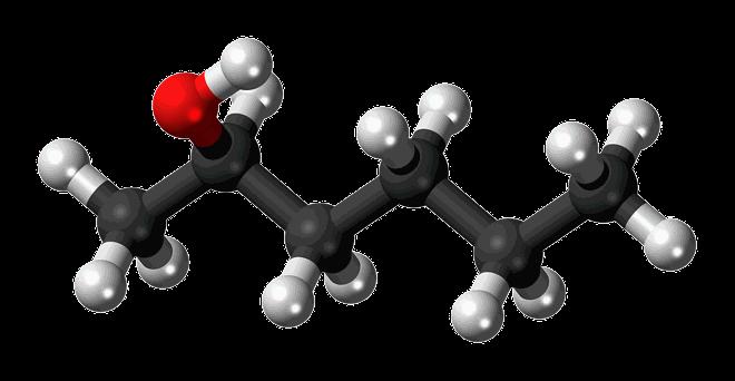 Hexanol Structure