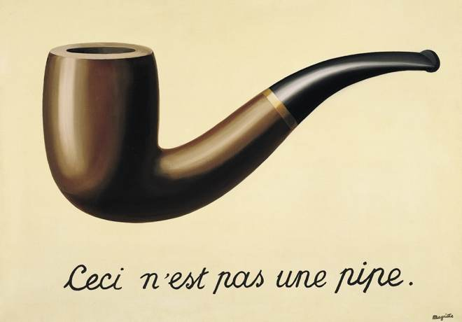 The Treachery of Images by René Magritte