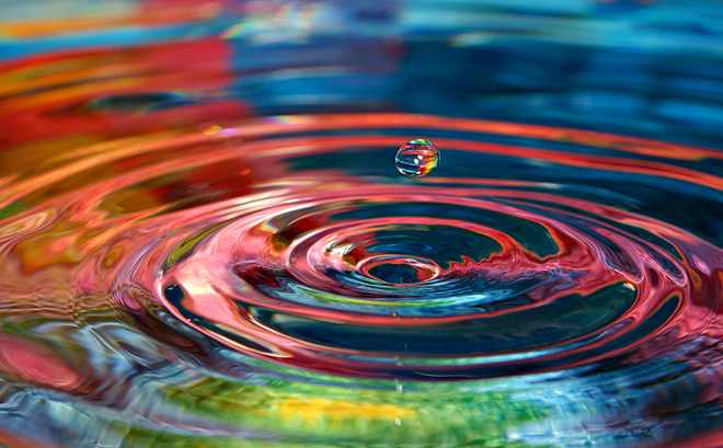 Colorful Ripple