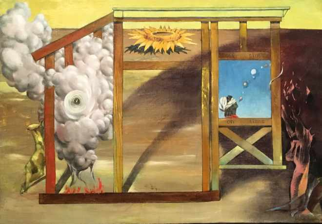 On Time Off Time by Dorothea Tanning
