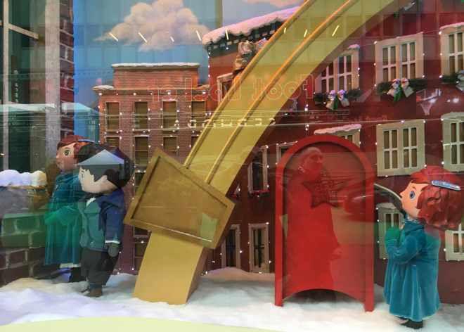Macy's Window Display